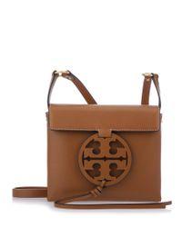 Tory Burch - Brown Miller Crossbody Bag - Lyst
