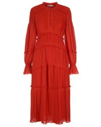 Tory Burch - Layered Dress - Lyst