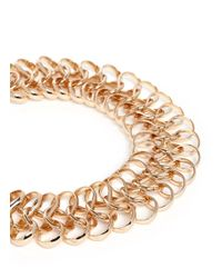 Kenneth Jay Lane - Metallic Loop Choker Necklace - Lyst