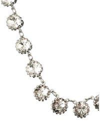 ASOS - Metallic Rhinestone Choker Necklace - Lyst