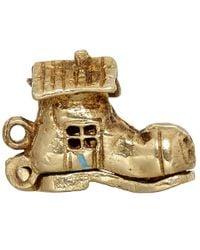 Annina Vogel - Metallic Vintage Gold Shoe Family Charm - Lyst