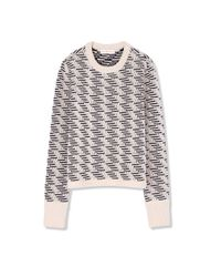 Tory Burch - Natural Wool Sweater - Lyst
