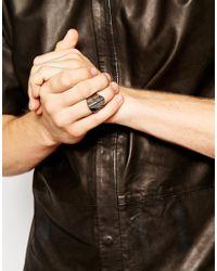 Vivienne Westwood - Black Knuckle Ring for Men - Lyst