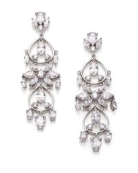 Adriana Orsini | Metallic Lavish Tiered Chandelier Earrings | Lyst
