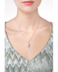 Anita Ko   18kt White Gold Cougar Necklace With Diamonds - Silver   Lyst