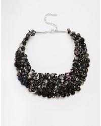 ALDO - Black Roccoa Statement Collar Necklace - Lyst