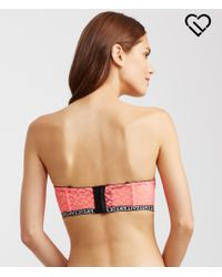 Live Love Dream | Pink Lld Leopard Lace Multiway Push-up Bra | Lyst