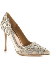 Badgley Mischka | White Rogue | Lyst