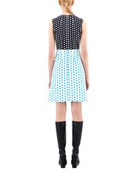 J.W.Anderson | Multicolor Shift Dress W/ Stitch Detail | Lyst