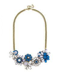 BaubleBar - Blue Crystal Firecracker Collar - Lyst