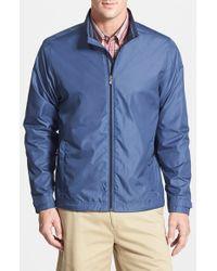 Cutter & Buck | Blue 'momentum - Windtec' Water & Wind Resistant Full Zip Jacket for Men | Lyst