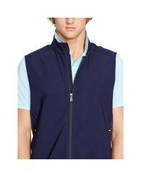 Ralph Lauren - Blue Water-resistant Packable Vest for Men - Lyst