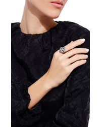 Sidney Garber | Metallic Pyramid Ring | Lyst