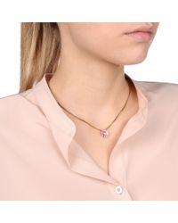 Stella McCartney | Pink Poppy Necklace | Lyst