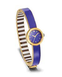 Henri Bendel   Blue Miss Bendel Bangle Watch   Lyst
