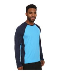 Patagonia | Blue Cap Lightweight Crew for Men | Lyst