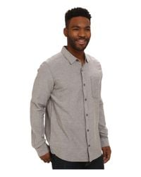 Toad&Co - Gray Steward Long Sleeve Shirt for Men - Lyst