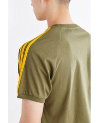 Adidas Originals - Green Originals Sport Essential Tee for Men - Lyst