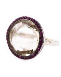 Rosa Maria   Metallic 'Julia' Ring   Lyst