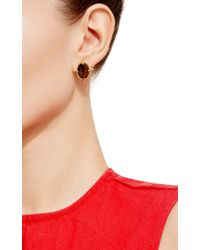 Genevieve Jones | Multicolor Nova Cosmic Black Opal Earrings With Pave Stones | Lyst