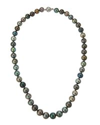 Belpearl - Multicolor Tahitian Pearl Strand Necklace - Lyst