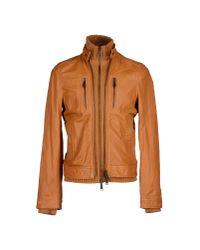 DSquared² - Brown Jacket for Men - Lyst