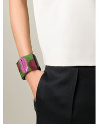 Marni | Black Elasticated Detail Cuff | Lyst