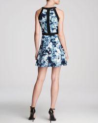 Parker - Multicolor Nika Silk Dress - Lyst