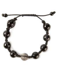 Christian Koban - Black Shambhala Diamond Bracelet - Lyst