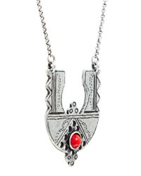 ASOS - Metallic Coachella Pendant Necklace - Lyst