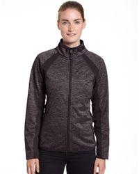Champion - Multicolor Bonded Sport Knit Soft Shell Jacket - Lyst