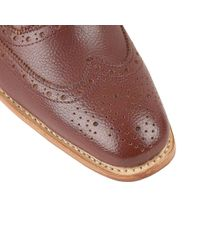Lotus - Brown Harry Lace Up Formal Brogues for Men - Lyst
