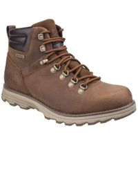 Caterpillar - Brown Sire Waterproof Mens Lace-up Boots for Men - Lyst