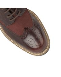 Lotus - Brown Castell Mens Casual Wingtip Brogues for Men - Lyst