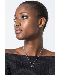 Cheap Monday - Multicolor Diamond Necklace - Lyst