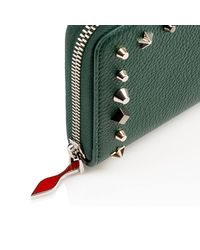 Christian Louboutin - Green Panettone Zipped Continental Wallet - Lyst