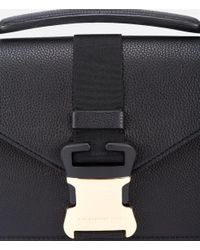 Christopher Kane - Black Devine Suede Shoulder Bag - Lyst