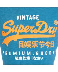 Superdry - Blue Duo T-shirt for Men - Lyst