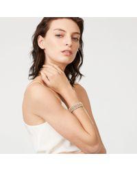 Club Monaco - Metallic Jenna Stretch Bracelet - Lyst