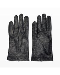 Hestra - Black Unlined Glove for Men - Lyst