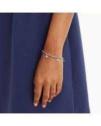 Club Monaco - Blue Tassel Bracelet - Lyst