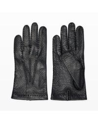 Hestra | Black Unlined Glove for Men | Lyst