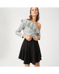 Club Monaco - Black Leala Skirt - Lyst