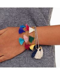 Club Monaco - Blue Sparkle Bracelet - Lyst