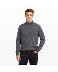 Club Monaco - Gray Marled Sport Crew Sweater for Men - Lyst