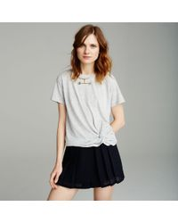Club Monaco | Blue Aren Skort | Lyst