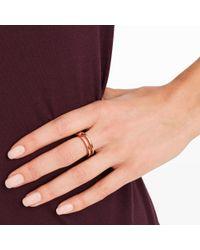 Club Monaco - Pink Miansai Split Layer Ring - Lyst