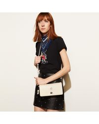 COACH - Multicolor Mickey Dinky Crossbody In Glovetanned Leather - Lyst