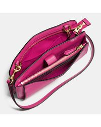 COACH - Multicolor Messenger With Pop-up Pouch In Pebble Leather - Lyst