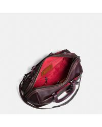 COACH | Multicolor Rogue Satchel In Glovetanned Pebble Leather | Lyst